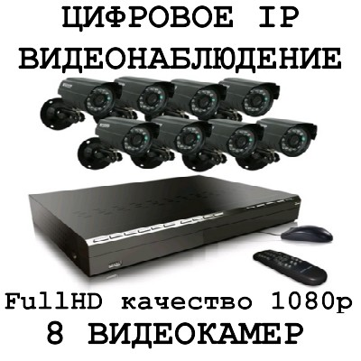 IP 1080p FullHD качество